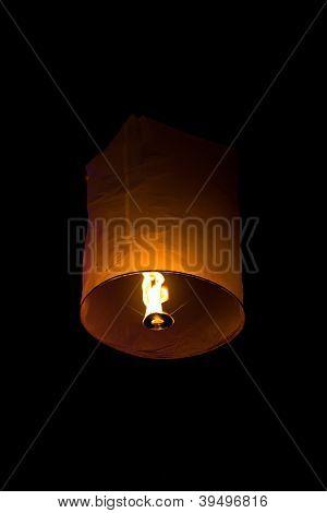 Yee Peng,floating Lantern