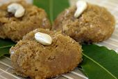 stock photo of mishti  - An isolated shot of Indian Sweet Balushai