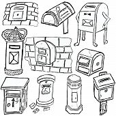 Post Box Sketches