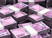 foto of billion  - Billion Tukish Lira Background  - JPG