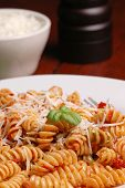 picture of italian food  - italian pasta dinner  - JPG