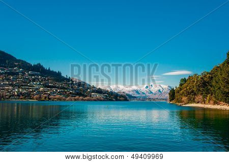 Lake Wakatipu - Queenstown - South Island - New Zealand