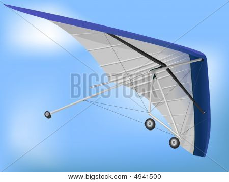 Hanglider Paragliding Wing