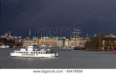 Djurgarden, ferry eleven