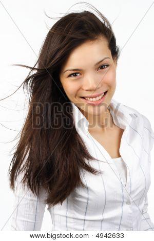 Beautiful Mixed Race Woman