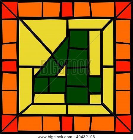 4 - Mosaic number