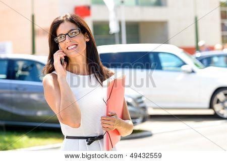 Car Sales Business Woman Success