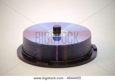 Tower Of Cds Or Dvd