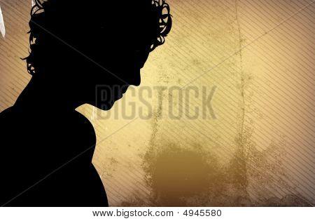 Portrait A Young Man