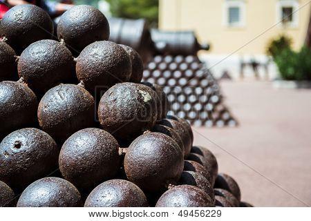 Cannonballs Close-up