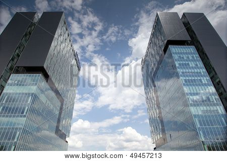 The City Gate Twin Towers business office
