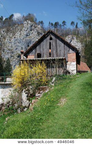 Rural Building In Predjama