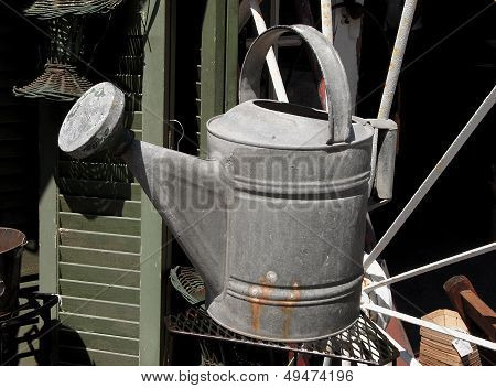 Antique Watering Can Garden