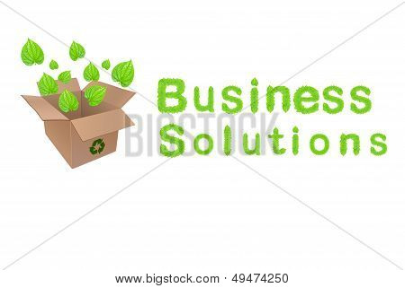 Green Business Solutions Concept Design