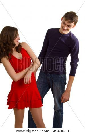 Man Tries To Get Acquainted With Girl