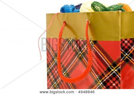 Package With Multi-colored Threads