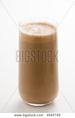 Refreshing Chocolate Shake With Chocolate Birutes