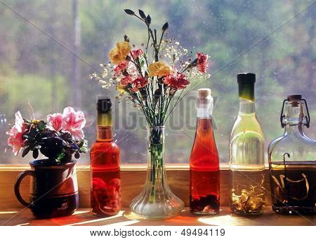 Flavored Vinigar Bottles