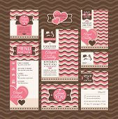 pic of dinner invitation  - Set of wedding cards - JPG