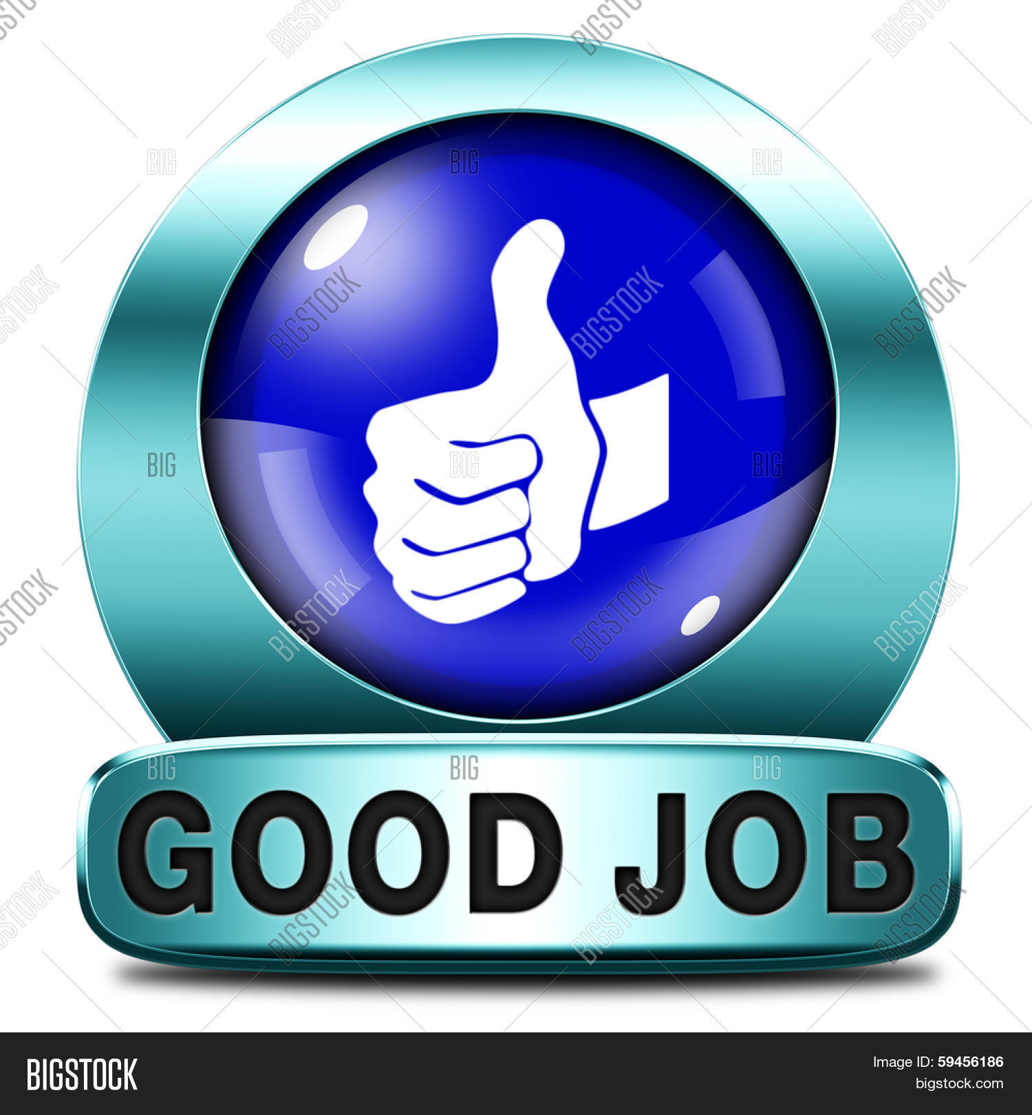 good job work well done blue icon or sign excellent good job work well done blue icon or sign excellent accomplishment well done congratulations