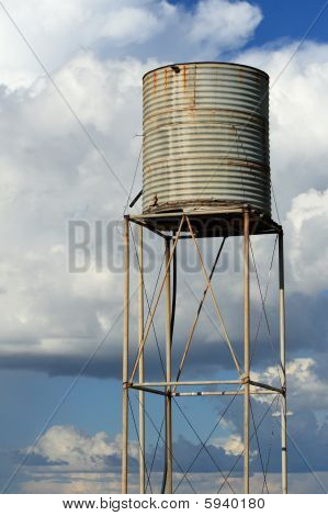 Rusted Watertower