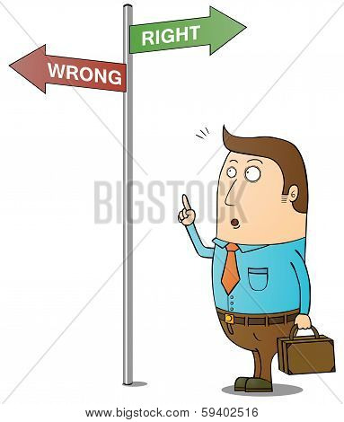 Right And Wrong Way