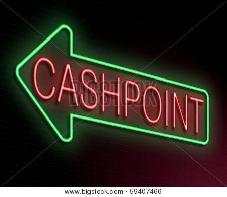Cashpoint Concept.
