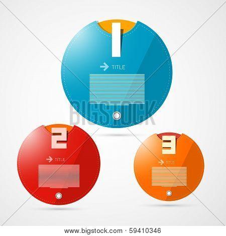 Steps for Tutorial, Infographics