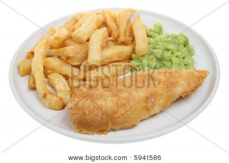 Fish & Chips & Mushy Peas