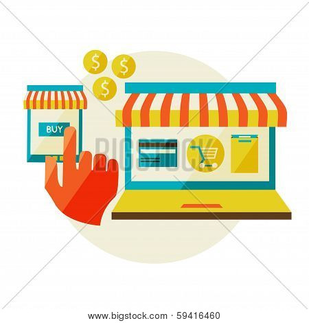 On Line Store.
