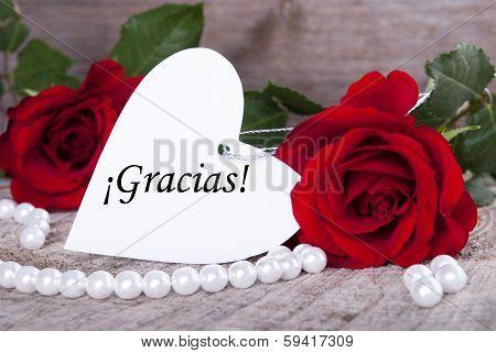 Background With Gracias