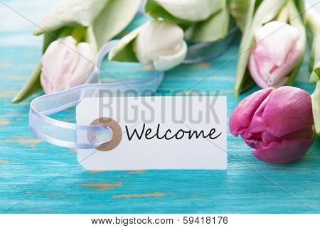 Tag With Welcome