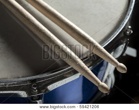 Drumsticks snare drum