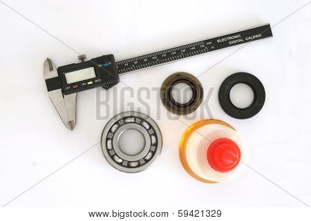 Vernier, Bearing, Oil Seal And Oil