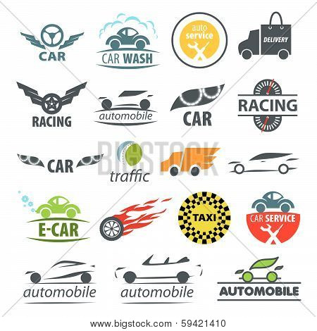 Biggest Collection Of Vector Icons Car
