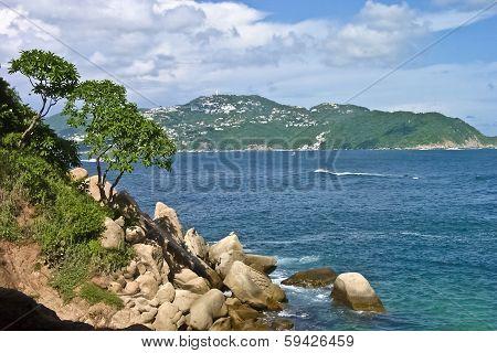 coastal landscape ocean