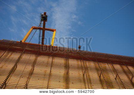 Crane On Industrial Building