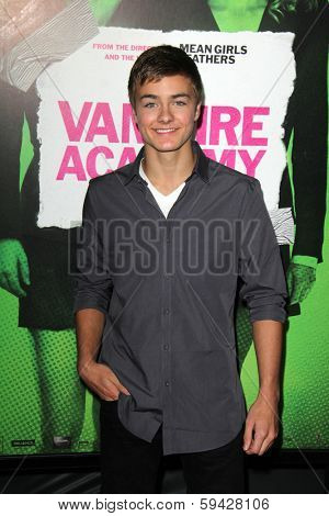 LOS ANGELES - FEB 4:  Peyton Meyer at the