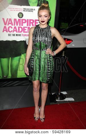 LOS ANGELES - FEB 4:  Peyton List at the