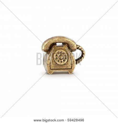 Bronze Phone Symbol
