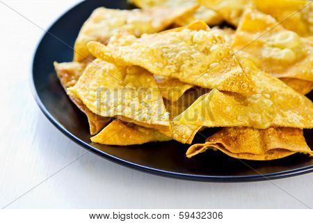 Deep Fried Wonton Pastry