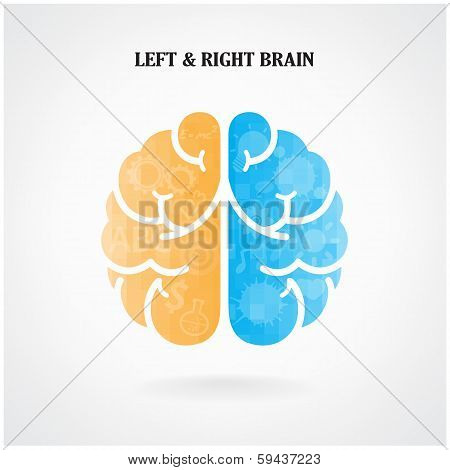 Creative Left  And Right Brain Symbol