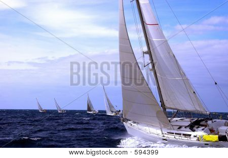 Sailing To The Ocean Atlantic