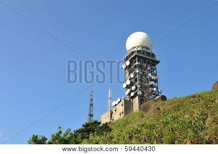 Radar weather station