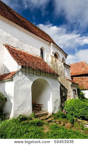 Viscri Fortified Church, Transylvania.