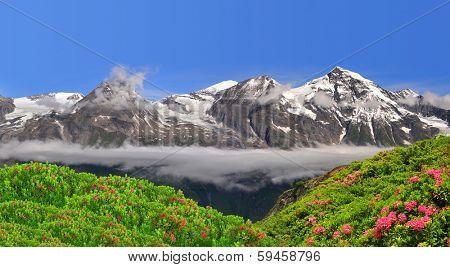 Wiesbachhorn in National Park Hohe Tauern, Austria