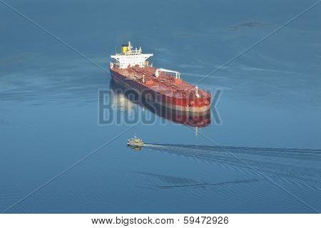 Vancouver, Burrard Inlet Oil Tanker