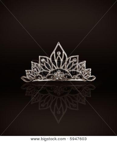 Tiara Or Diadem on black