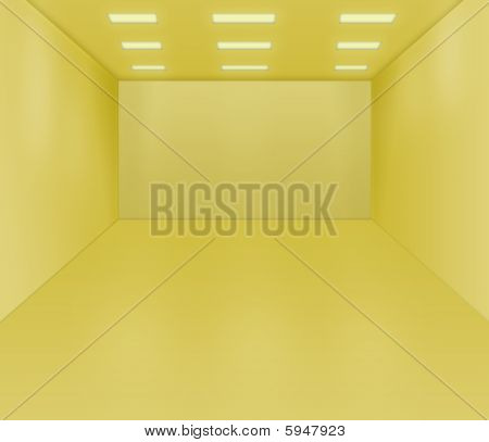 Empty Room Illustration