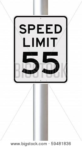Speed Limit at 55